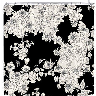 Victoria Krupp Floral Shower Curtain