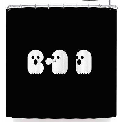 Eikwox Boo Shower Curtain