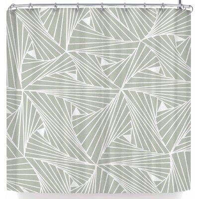 Angelo Cerantola Modern Mesh Shower Curtain