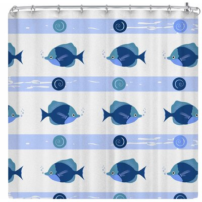 Afe Images Fish Shower Curtain