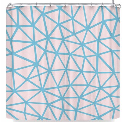 Project M Segment and Shower Curtain Color: Pink/Blue