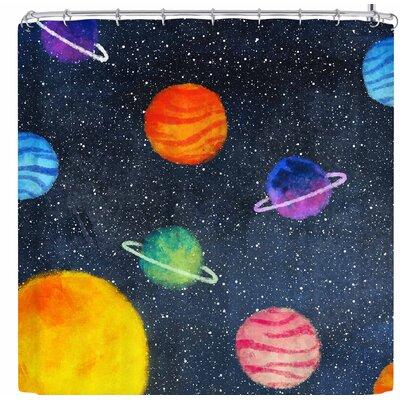 Strawberringo Universe Shower Curtain