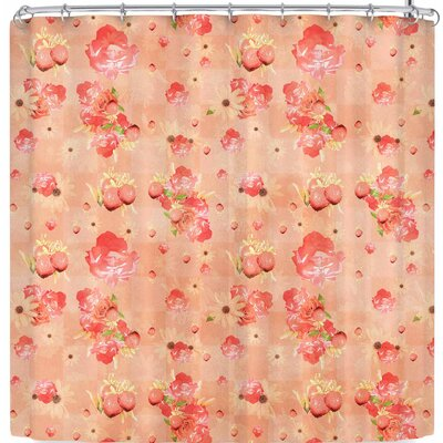 Elena Ivan - Papadopoulou Summer's Slowly Fading Shower Curtain Color: Beige Brown