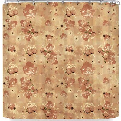Elena Ivan - Papadopoulou Summer's Slowly Fading Shower Curtain Color: Pink