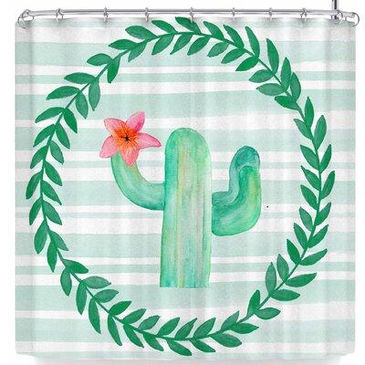 Li Zamperini Cactus Party Shower Curtain