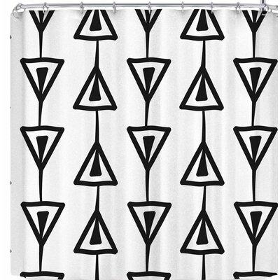 Li Zamperini Pen I Shower Curtain