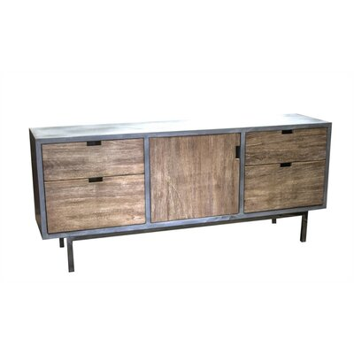 Cotta Lovely 4 Drawer 1 Door Accent Cabinet