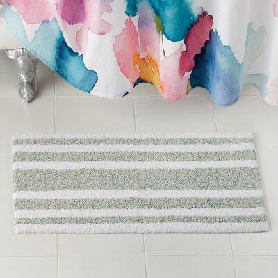 Mingle Stripe Bath Rug