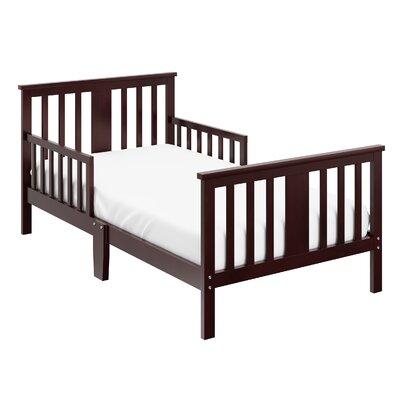Mission Ridge Toddler Slat Bed Bed Frame Color: Espresso
