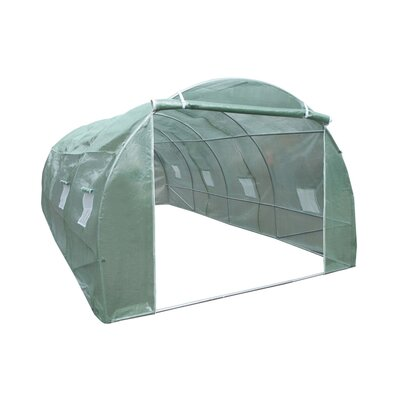 9.5 Ft W x 19.5 Ft D Greenhouse