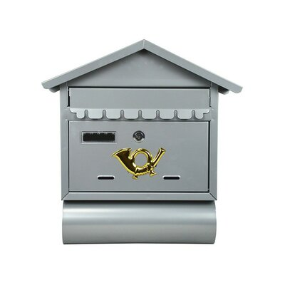 Locking Wall Mounted Mailbox