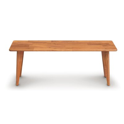 Essentials Wood Bench Color: Natural Cherry