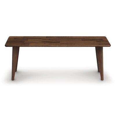 Essentials Wood Bench Color: Natural Walnut