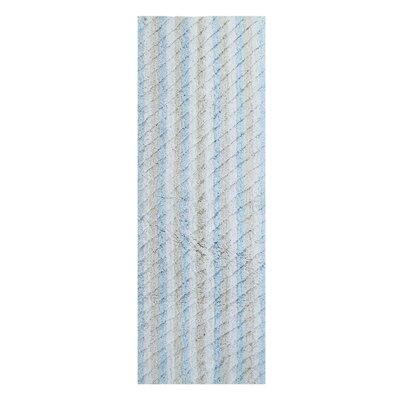 Casella Ring-Spun Bath Rug Color: Blue