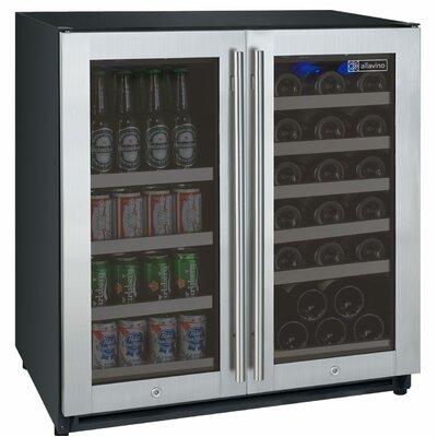 30 Bottle FlexCount Series Dual Zone Wine Cooler