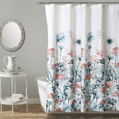 Daniella Flora Single Shower Curtain