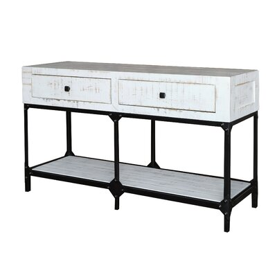 Zeman Console Table with 2 Drawer