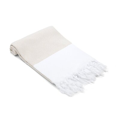 Didyma Turkish Cotton Hand Towel Color: Desert Sand