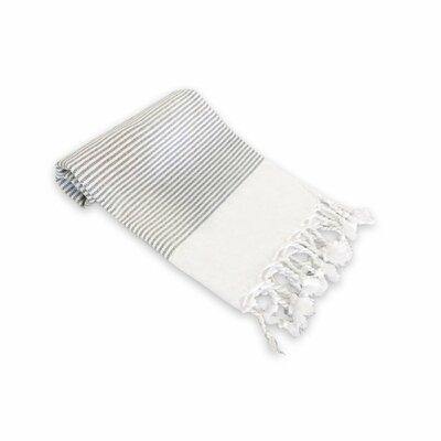 Didyma Turkish Cotton Hand Towel Color: Gray
