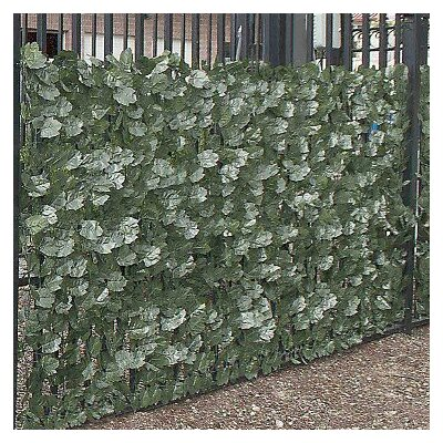 Artificial Ivy Leaf Privacy Fence
