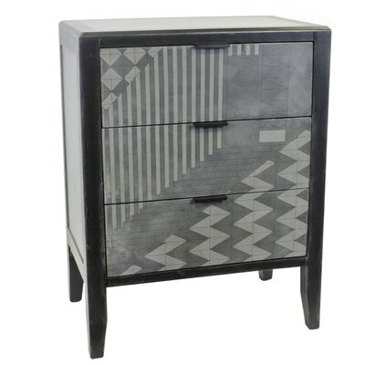 Dennis 3 Drawer Accent Chest