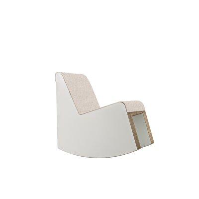 Hessler Swing Rocking Chair Fabric: Sand