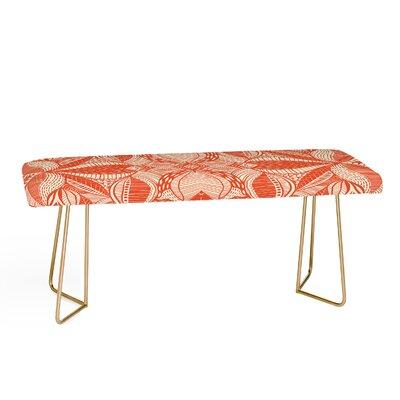 Jenean Morrison Leave Me Be Upholstered Bench