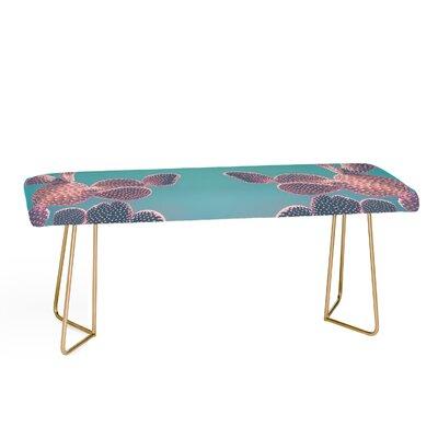 Emanuela Carratoni Candy Cactus Upholstered Bench
