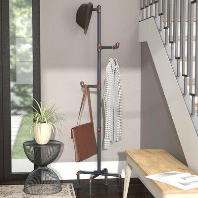 Melynda Metal Pipe Style Coat Rack
