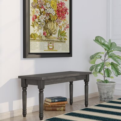 Isadore Wood Bench