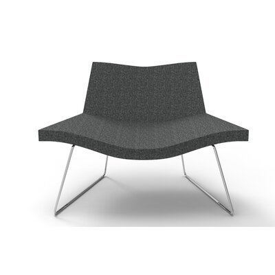 Smile Lounge Chair Finish: Charcoal