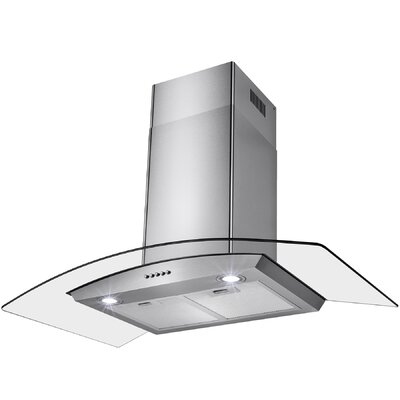 "36"" 343 CFM Convertible Wall Mount Range Hood"