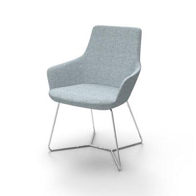 Superkool Metal Base Mini Lounge Chair Seat Color: Light Blue