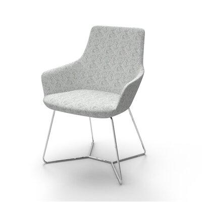 Superkool Metal Base Mini Lounge Chair Seat Color: Light Gray