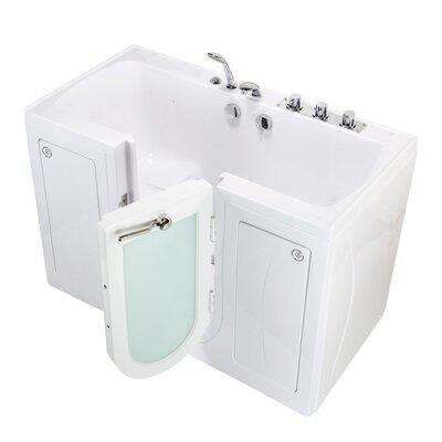 "Tub4Two Microbubble 60"" x 30"" Walk-in Combination Bathtub"