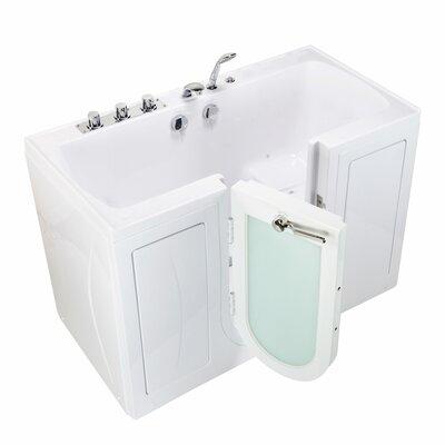 """Tub4Two Air Massage 60"""" x 30"""" Walk-in Combination Bathtub"""
