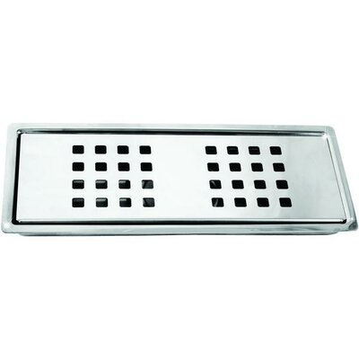 Stainless Steel Linear Floor Channel Grid Shower Drain