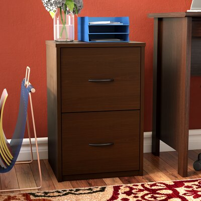 Gammons 2 Drawer Vertical Filing Cabinet Finish: Resort Cherry