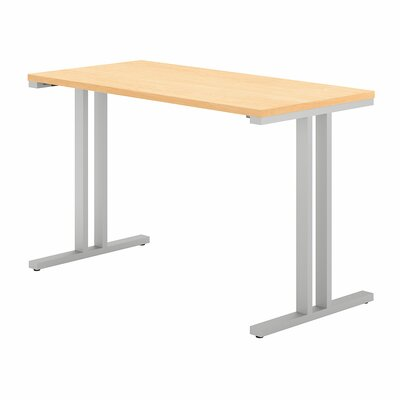 "400 Series Training Table Tabletop Finish: Natural Maple, Size: 29.8"" H x 47.6"" W x 23.35"" D"