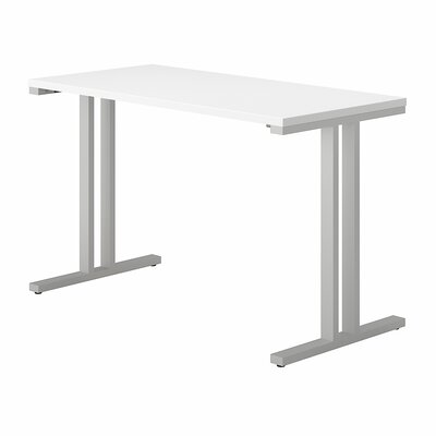 "400 Series Training Table Tabletop Finish: White, Size: 29.8"" H x 47.6"" W x 23.35"" D"
