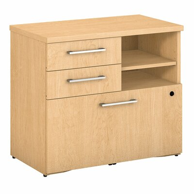400 Series Lateral Filing Cabinet Color: Natural Maple