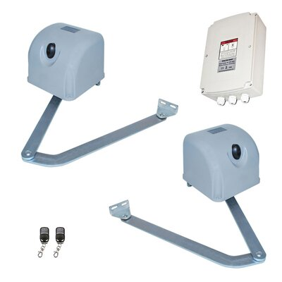 Articulated Gate Opener for Dual Swing Gates Solar Kit Wattage: 30