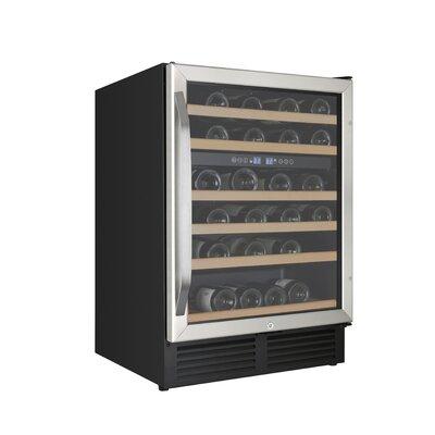 49 Bottle Dual Zone Built-In Wine Cooler