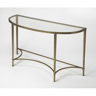 Kaliyah Demilune Console Table