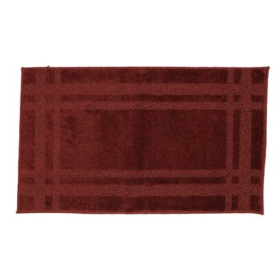 "Steelton Bath Rug Rug Size: Rectangle 1'8"" x 5'"