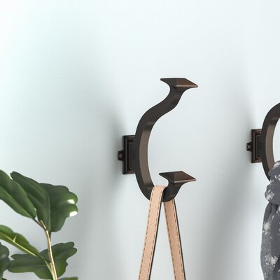 Traditional Wall Mounted Hook Finish: Oil-Rubbed Bronze