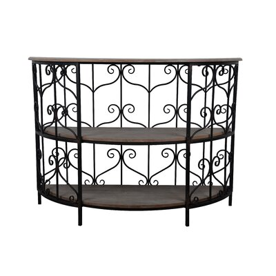 Beeney Half Round Console Table