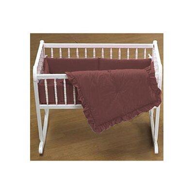 """Durkee Cradle Bedding Set Color: Brown, Size: 15"""" W x 33"""" L"""