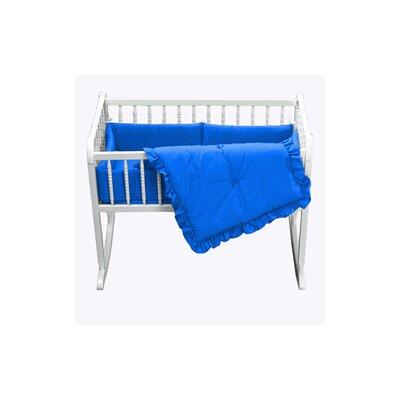"""Durkee Cradle Bedding Set Color: Royal Blue, Size: 15"""" W x 33"""" L"""