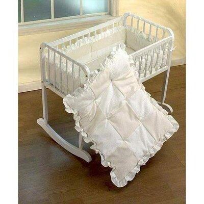 """Durr Fleece Cradle Bedding set Size: 15"""" W x 33"""" L"""